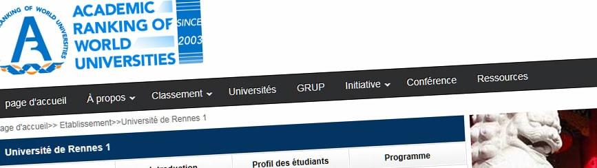 Une seule université bretonne dans le classement de Shanghai