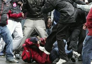 Rennes. « La tête littéralement défoncée » par des racailles pour son téléphone, un étudiant perd connaissance