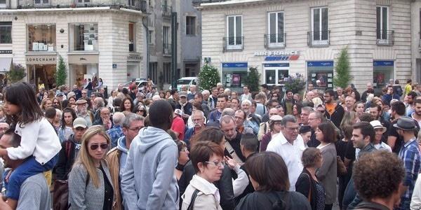 Nantes. Un millier de personnes à la manifestation de soutien à l'invasion migratoire [+ vidéo incidents ]