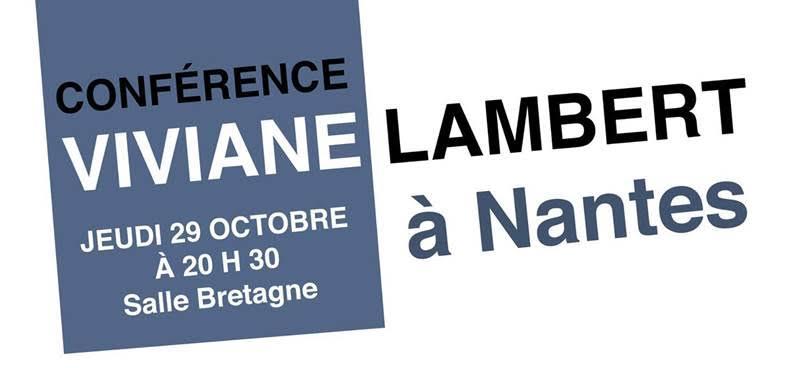 Nantes. La mère de Vincent Lambert en conférence à la Librairie Dobrée