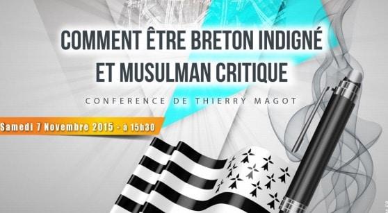 Conférence à Nantes : « comment être Breton indigné et musulman critique ? » par Thierry Magot