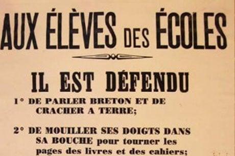 Charte des Langues régionales. La trahison de sénateurs bretons de la droite et du centre