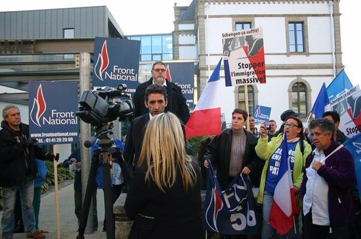 Ploërmel. Une centaine de personnes ont manifesté contre l'immigration – le FN reçu en mairie