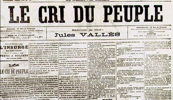 "Le Cri du peuple, de Jules Vallès. Le peuple ""old school"", selon Onfray"