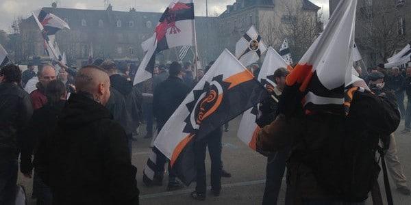Pontivy. Manifestation sous tension contre l'invasion migratoire