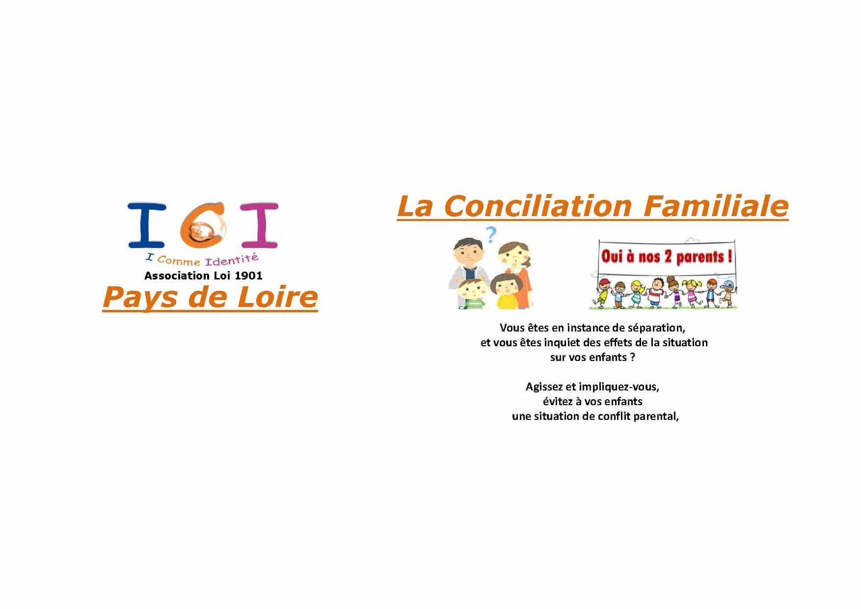 I comme identité : une association d'information sur la conciliation familiale en Pays de la Loire