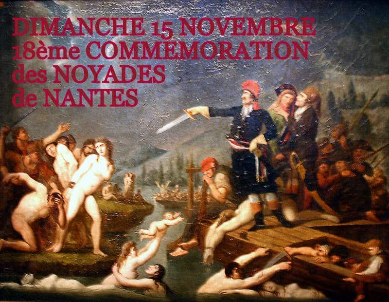 13 novembre 2016 : Commémoration des Noyades de Nantes