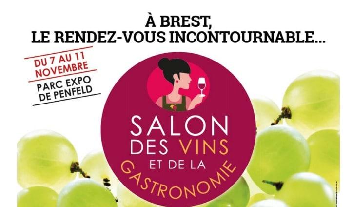 Brest salon des vins et de la gastronomie du 7 au 11 for Salon gastronomie brest 2017