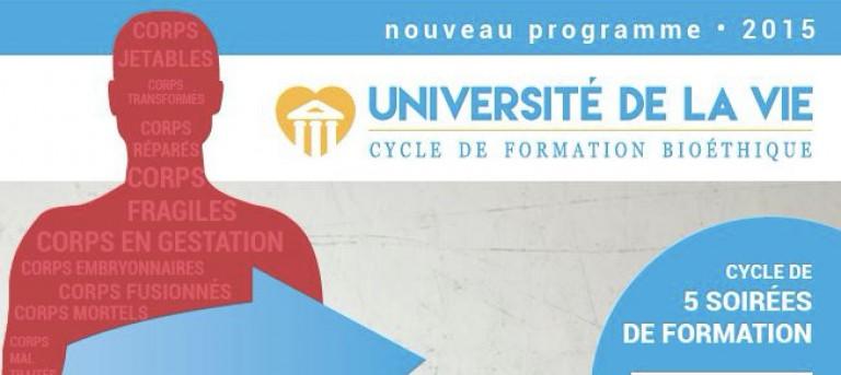 Tréguier. Alliance Vita organise une « Université de la vie » en mars 2016