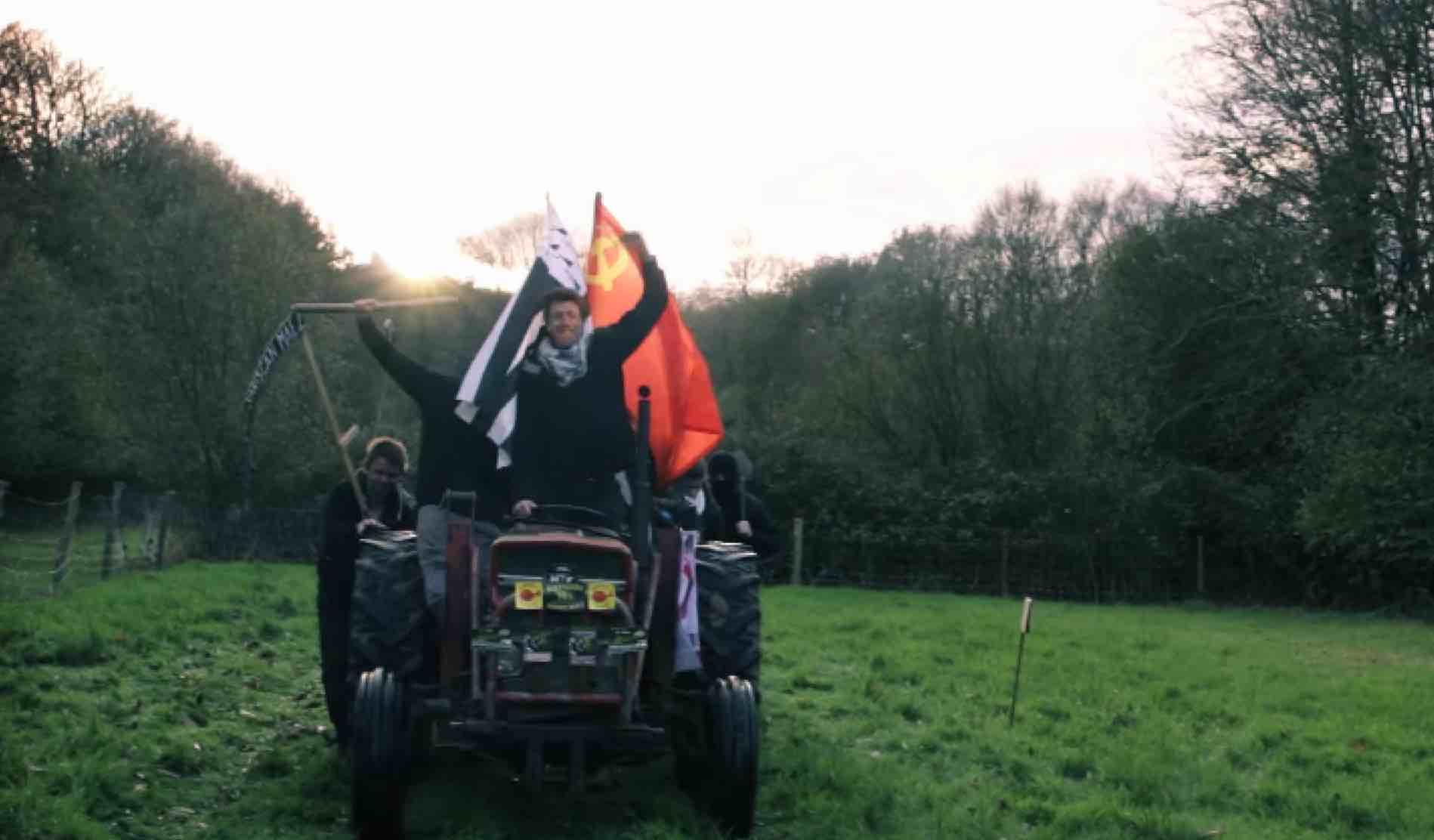 Bretagne en luttes fait l'apologie de l'Union soviétique  [vidéo]