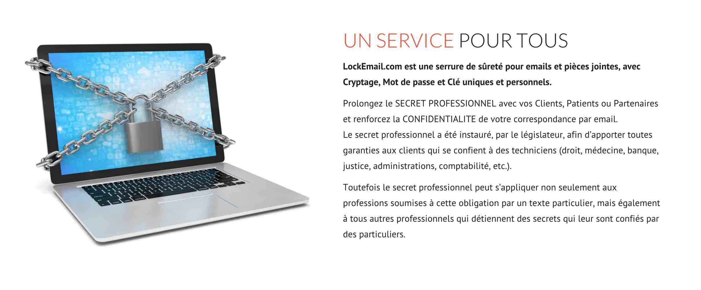 Lockemail.fr , un nouveau service pour protéger emails et données sensibles