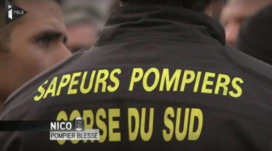 Ajaccio. Les Corses soutiennent les pompiers agressés, la presse fait diversion.