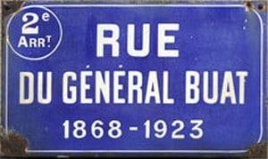 Une rue nantaise honore la mémoire du général