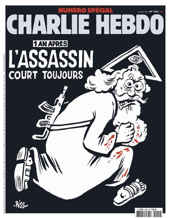 La Une de Charlie Hebdo : un Dieu-assassin de type européen