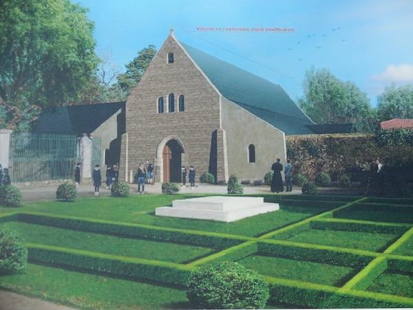 Château-Thébaud : une chapelle va être construite au collège catholique de la Placelière