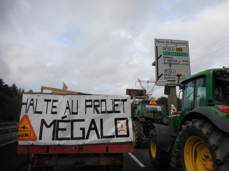 NDDL. Blocage du pont de Cheviré levé, un nouveau rassemblement le 13 janvier