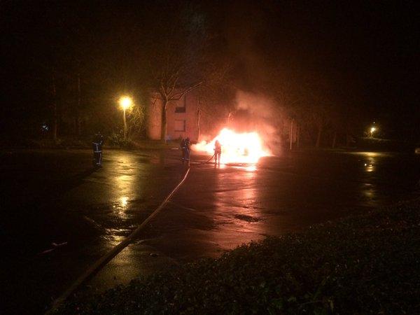Rennes. 11 voitures, 3 scooters et 3 conteneurs à ordure incendiés la nuit de la Saint-Sylvestre