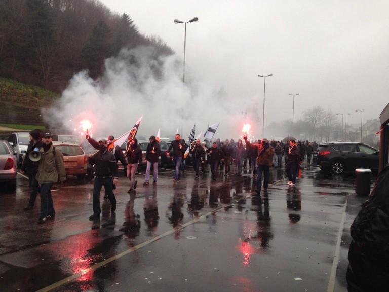 Quimper. Pro et anti immigration manifestent : un journaliste de Breizh-info menacé de mort par des «antifas»