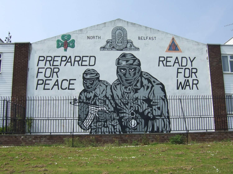 Belfast ann es 90 un flamand raconte son exp rience for Mural irlande