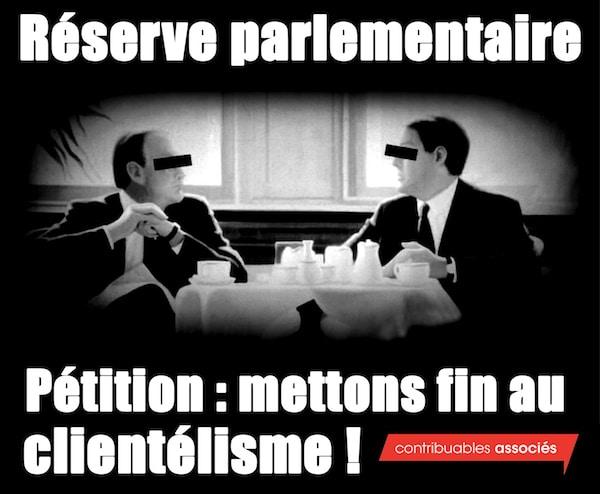 France. Une pétition pour mettre fin à la réserve parlementaire