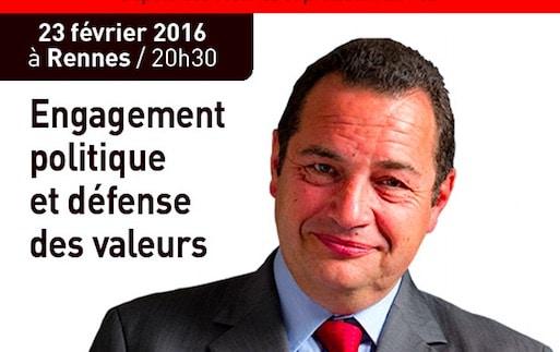 Rennes. Jean-Frédéric Poisson (PCD) en conférence mardi 23 février