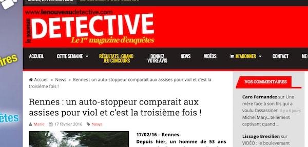 Rennes. Un violeur récidiviste, âgé de 52 ans, cumule 45 années de prison