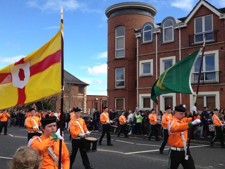 Belfast. Des milliers d'Irlandais commémorent l'insurrection de Pâques 1916 [photos]