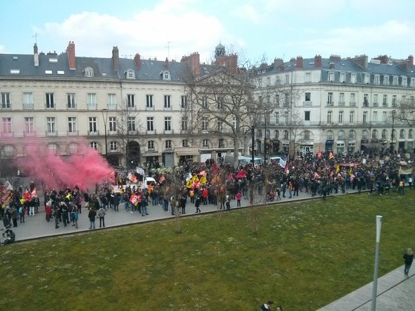 Loi Travail : 11000 manifestants en Bretagne et de nombreux blocages