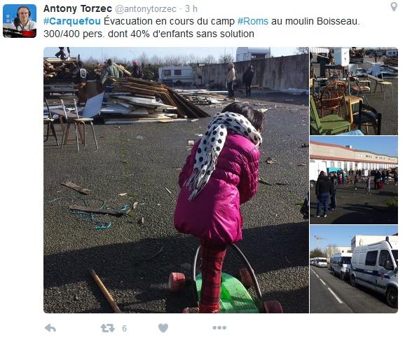 Roms à Carquefou : neuf mois jugés très pénibles par les habitants