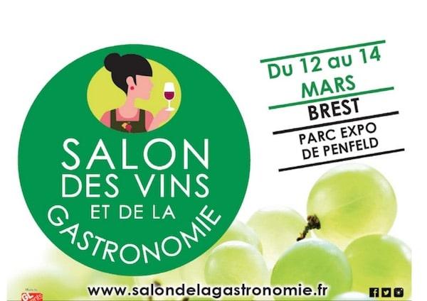 Brest salon du vin et de la gastronomie les 12 13 et 14 for Salon de la gastronomie brest 2017