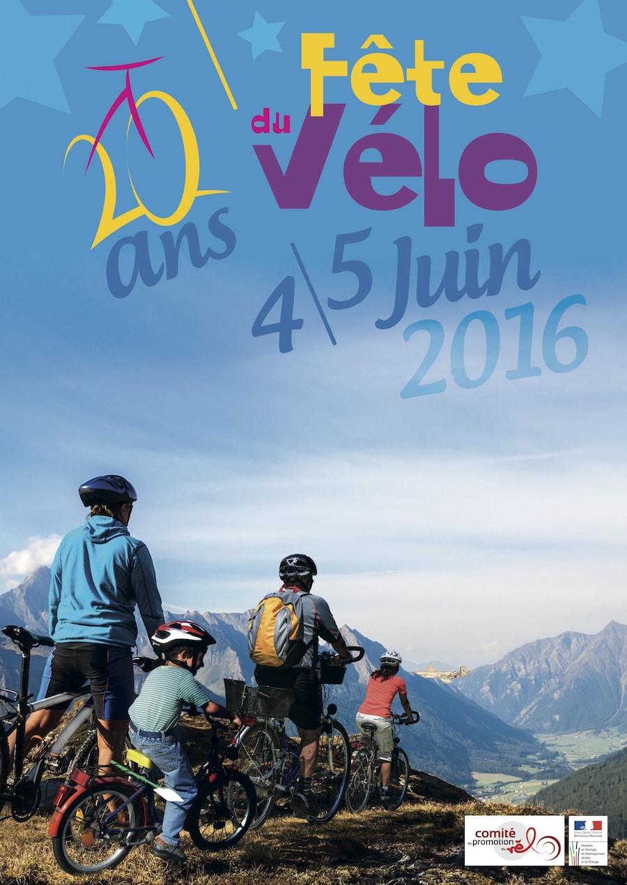 Affiche Fête du Vélo 2016