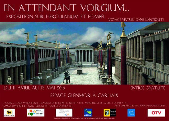 Carhaix. Une exposition sur Herculanum et Pompéi