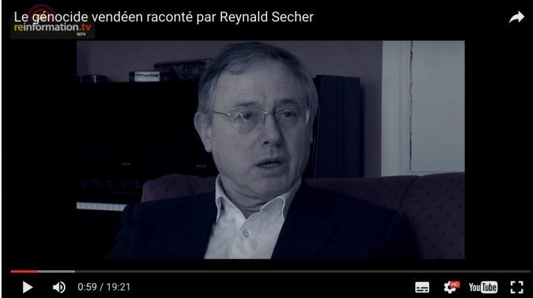 Le génocide vendéen raconté par Reynald Secher Documentaire [vidéo]
