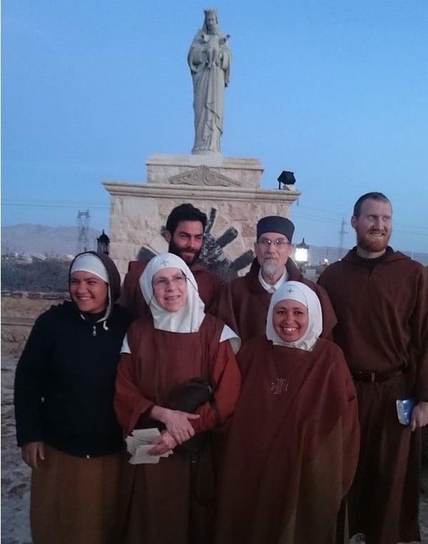 La communauté du monastère de Saint Jacques, à Qara. Un havre de paix au milieu du conflit syrien