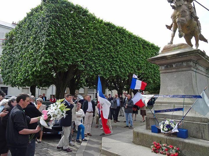 Nantes.  Hommage à Jeanne d'Arc