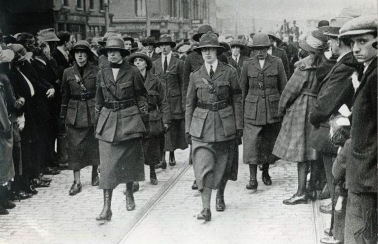 Pâques 1916. Cumann na mBan. Un mouvement de femmes celtes. Par Fabien Régnier
