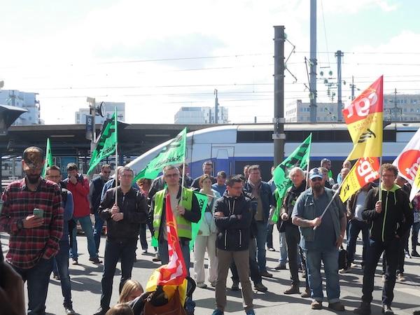 Loi Travail. Nicolas Debouvry (CGT Rail) : « Nous sommes radicalement opposés à toute forme de violence.»