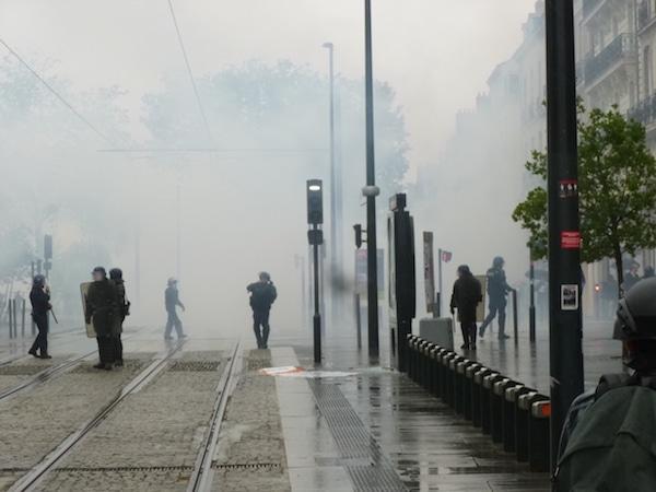 Loi Travail : importantes émeutes et destruction à Nantes et Rennes [photos]