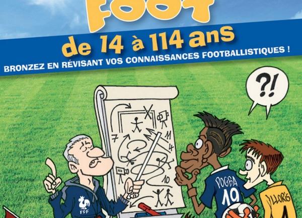 Hugo Sport. Sortie du Cahier de vacances foot et du guide de l'Euro 2016