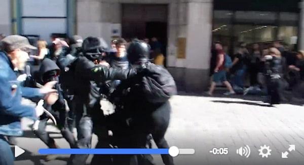 Nantes. Un policier lynché par des manifestants : la vidéo qui scandalise