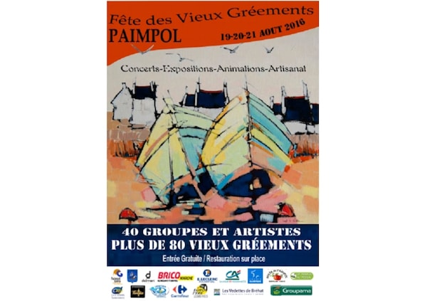 Paimpol. 5ème édition du festival des vieux gréements, du 19 au 21 août 2016