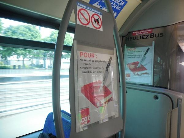 Loi Travail : la contestation gagne les transports en commun de Nantes