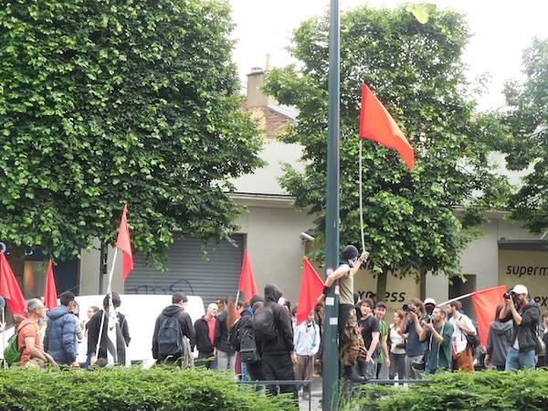 Loi Travail : 2000 manifestants à Rennes et des dizaines de