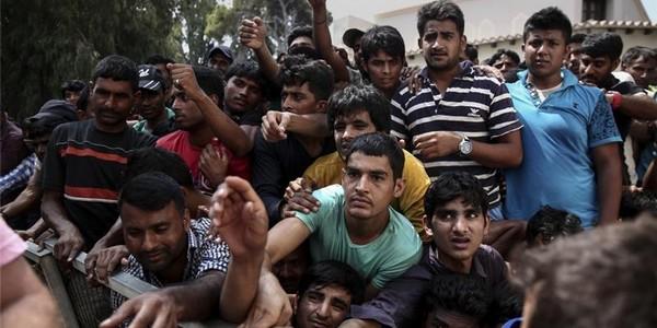 Grèce_Lesbos_migrants_illégaux_continuent_arriver