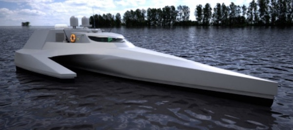 Rennes. Code_Libellule : Un navire innovant et polyvalent
