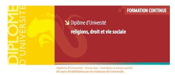 Rennes. Un diplôme universitaire contre la radicalisation islamiste ?