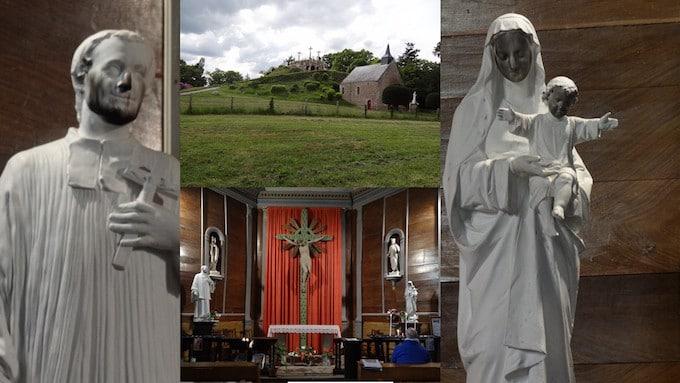 Des édifices religieux vandalisés à Briec et Guénin