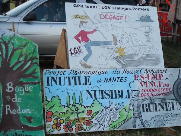 Notre-Dame-des-Landes : grand succès du rassemblement d'été contre l'aéroport