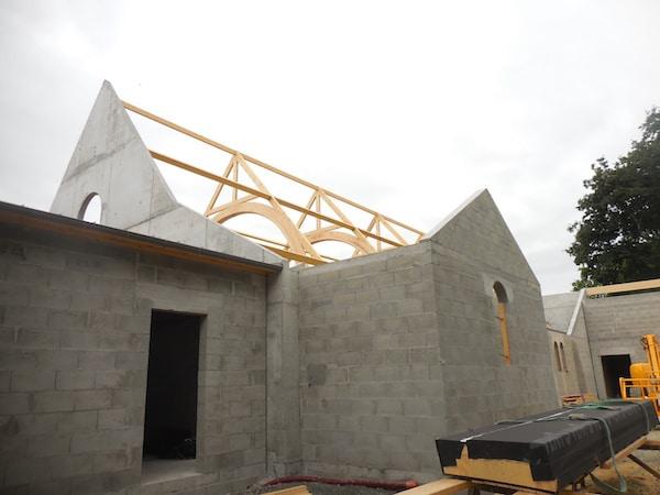 Château-Thébaud (44) : une nouvelle chapelle au lycée catholique de la Placelière
