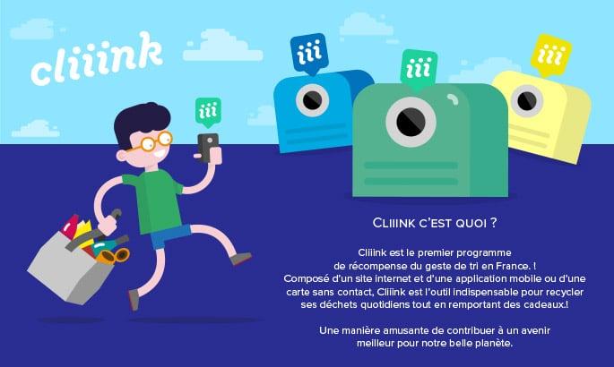 Cliiink. Une solution d'avenir pour les collectivités bretonnes afin d'inciter le consommateur au tri sélectif